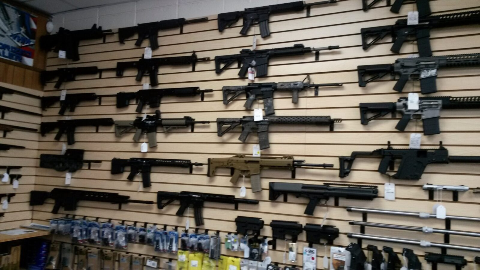 We the people the truth about america 39 s deadly gun boom for Gun room design ideas for houses