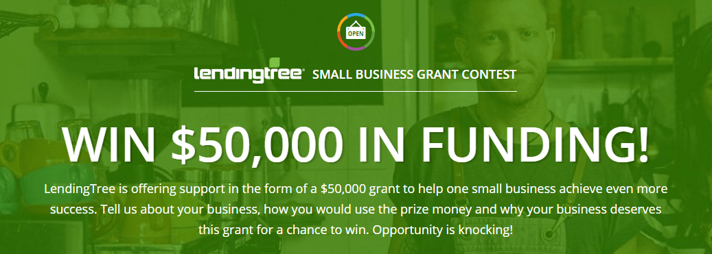 LendingTree Launches $50,000 Small Business Grant Contest