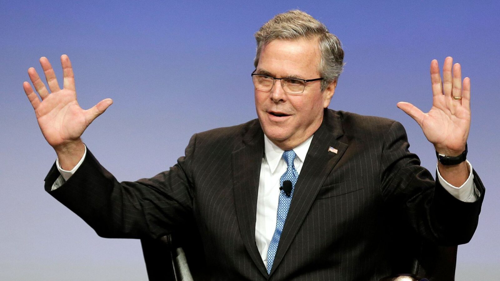 Looks Like A Bush: Jeb! Is In