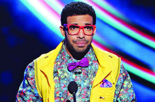 LOS ANGELES, CA - JULY 16:  ESPYs host Drake  onstage during the 2014 ESPYS at Nokia Theatre L.A. Live on July 16, 2014 in Los Angeles, California.  (Photo by Kevin Winter/Getty Images)