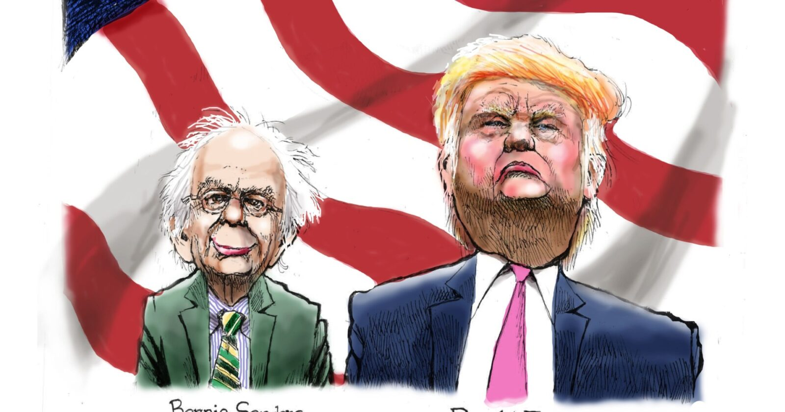 Two Sides Of The Same Coin In Both Primaries
