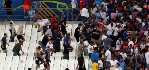 Russia Uefa clash